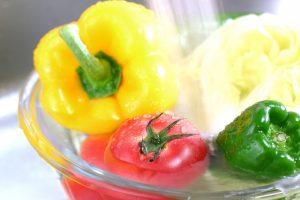 50℃洗い 野菜