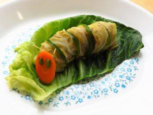 はらぺこあおむし君ロールキャベツ レシピ 日野菜キッチン
