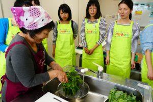 日野菜キッチンカフェ 50℃洗い