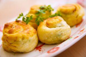 くるくるネギパン-日野菜キッチン レシピ
