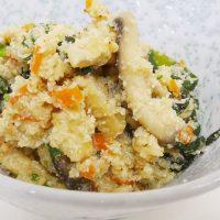 五色卯の花 日野菜キッチンカフェ レシ