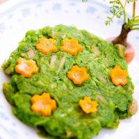 みどりのホットケーキ 日野菜キッチン レシピ