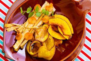 素材をいかした野菜の素揚 レシピ