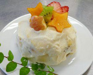 豆腐クリームケーキ 日野菜キッチン レシピ