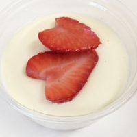 豆腐クリームのいちごレアチーズケーキ 日野菜キッチンレシピ
