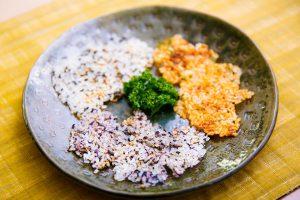 しいたけせんべい 日野菜キッチン レシピ