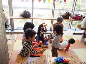 日野菜キッチンカフェ 保育