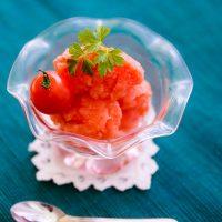 トマトジェラート 日野菜キッチレシピ